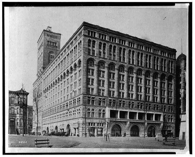Historic Chicago Architecture building 51 | building 51 | c. 1890's american interior auditorium