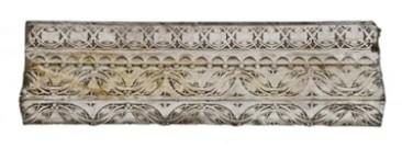 c. 1899 schlesinger & meyer department store white glazed terra cotta panel– louis h. sullivan, architect