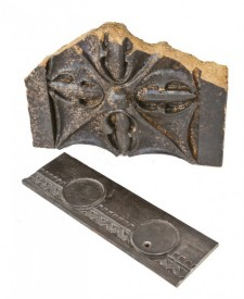 "early 20th century american michael reese hospital exterior ""gardenesque"" style single-sided ornamental cast iron trim work fragment – schmidt, garden & martin, architects"