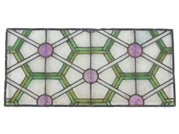 c. 1894 chicago stock exchange skylight art glass panels
